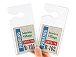 Clear Parking Permit Holders