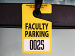 Faculty and Student Parking Permits