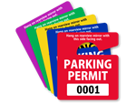 In-Stock Mini Permits Hang Tag