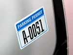 In-Stock Parking Decals