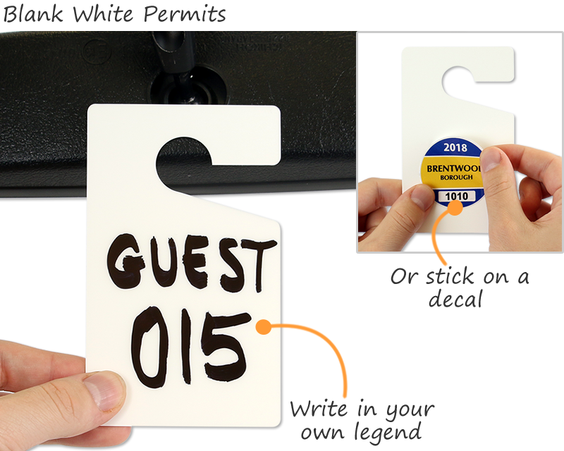 Do-it-Yourself Parking Permits Made On-Site