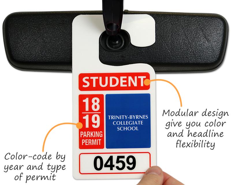 Big Foot Parking Permits Jumbo Size Hang Tags – Hang Tag Template