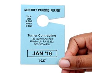 Monthly Parking Permit