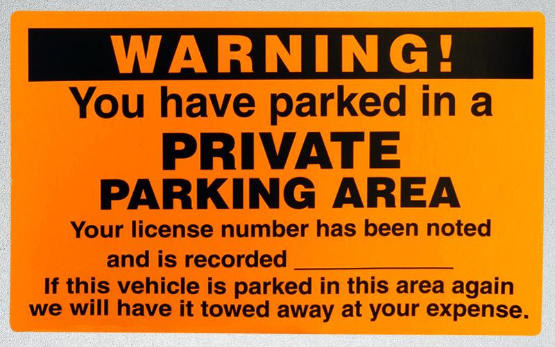 My Car Parked On My Property