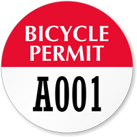 Bicycle Permit Circular