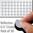 Reflective Dots Label