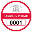 Parking Labels - Design CR9L