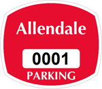 Parking Labels - Design OS2