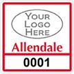 Parking Labels - Design SQ6L