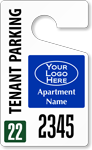 Plastic ToughTags™ for Apartment Parking Permits