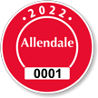 Parking Labels - Design CR2