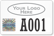 Create Tamper-Evident Hologram Permit Decals with Logo