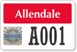 Create Tamper-Evident Hologram Permit Decals with Big Numbering