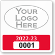 Customizable Reserve Parking Permit Decal with Logo