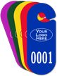 Customized Large Racetrack Parking Permit Hang Tag