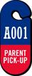 Parent Pickup Parking Permit Pass Hang Tag