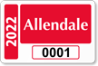 Parking Labels - Design LT5