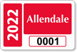 Parking Labels - Design LT9