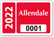 Parking Labels - Design LT11