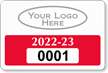 Parking Labels - Design LL4