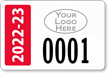 Parking Labels - Design LL10