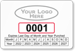 Parking Labels - Design LL16