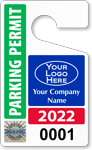 Plastic ToughTags™ for SecuraPass™ Parking Permits
