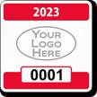 Parking Labels - Design SQ2L