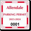 Parking Labels - Design CS1