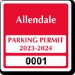 Parking Labels - Design CS2