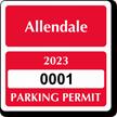 Parking Labels - Design CS3