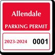 Parking Labels - Design CS4
