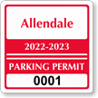 Parking Labels - Design CS5