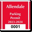 Parking Labels - Design CS6