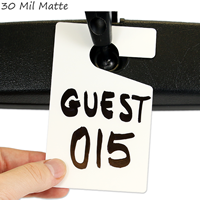 Blank ValueTag™. Do-it-Yourself Hanging Parking Permits Tags