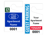 Apartment Parking Tags