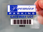 Barcode Permit Stickers