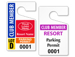 Club Parking Permits
