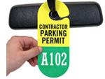 Parking Passes for Contractors