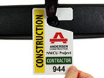Contractor Parking Passes