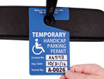 Custom Handicapped Parking Permits