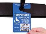Custom Handicapped Parking Permits
