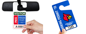 Custom Parking Permit Hang Tags