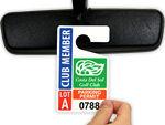 Custom Parking Tags