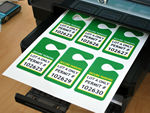 Your Own Secure Parking Tags