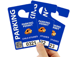 Holographic Parking Permits