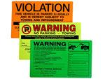 Parking Lot Stickers & Permits
