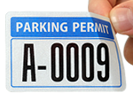 WindowCling Stock Permits