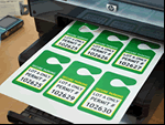 Laser Printable Tags and Inserts