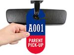 Parent Pick-Up Tags